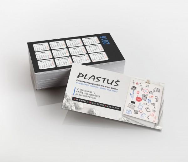 Wizytowki Plastus