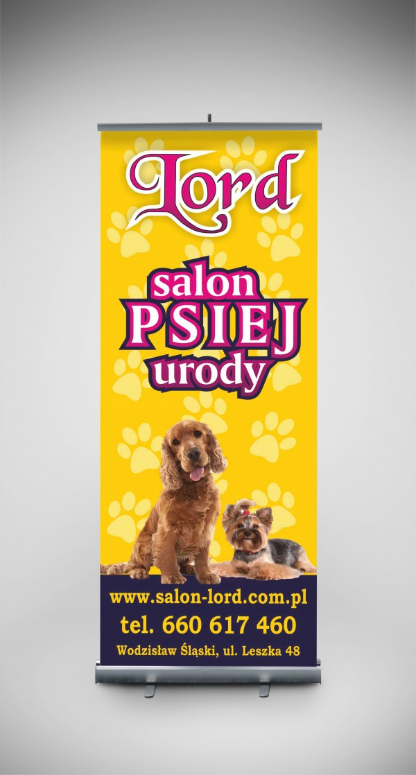 Roll-up Salon Psiej Urody