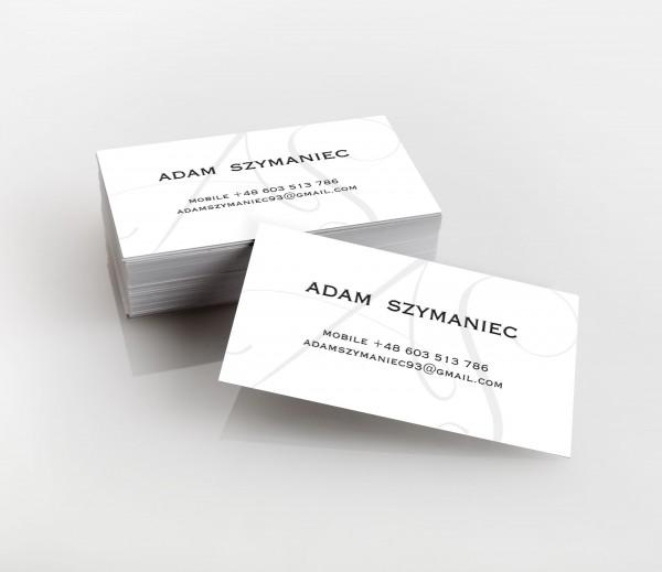 Wizytowki Adam Szymaniec