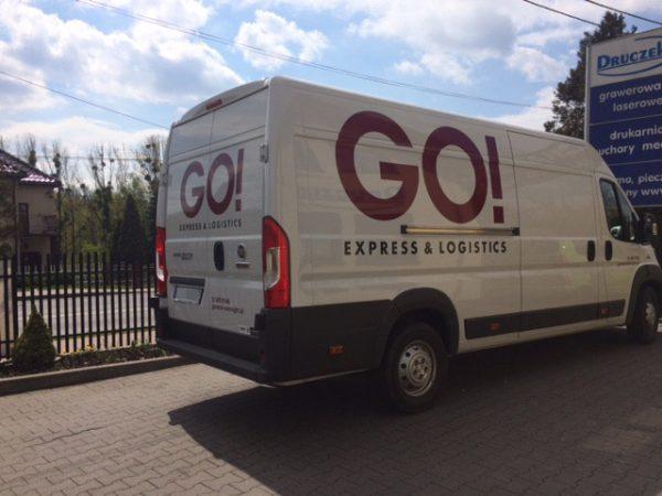 Oklejanie samochodu – GO! EXPRESS & LOGISTICS