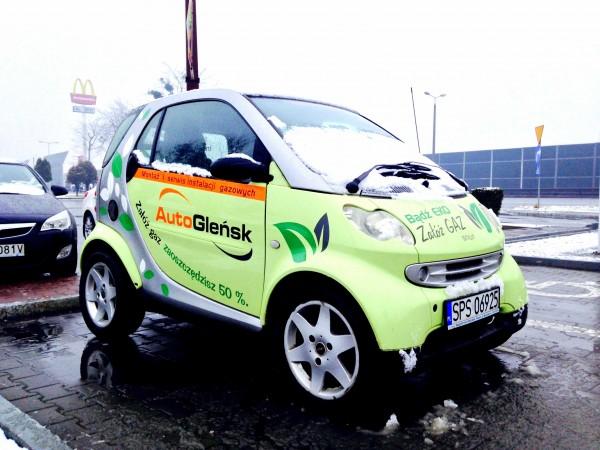 Oklejanie samochodu Auto Gleńsk