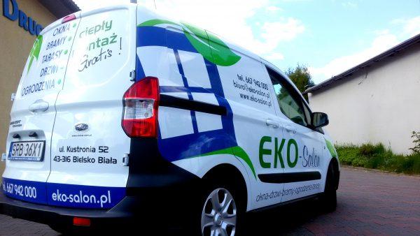Oklejanie samochodów Eko-Salon